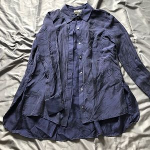 Lord & Taylor silk blouse